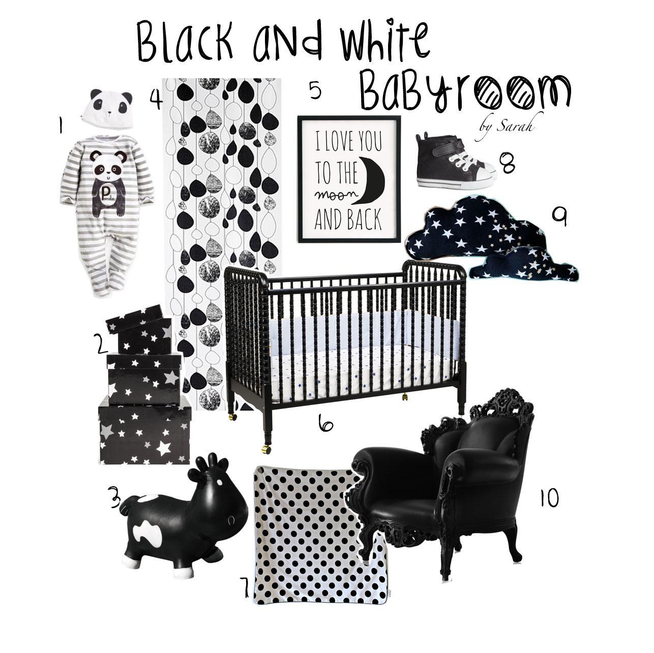 Baby Ledikant Zwart.Zwart Ledikantje