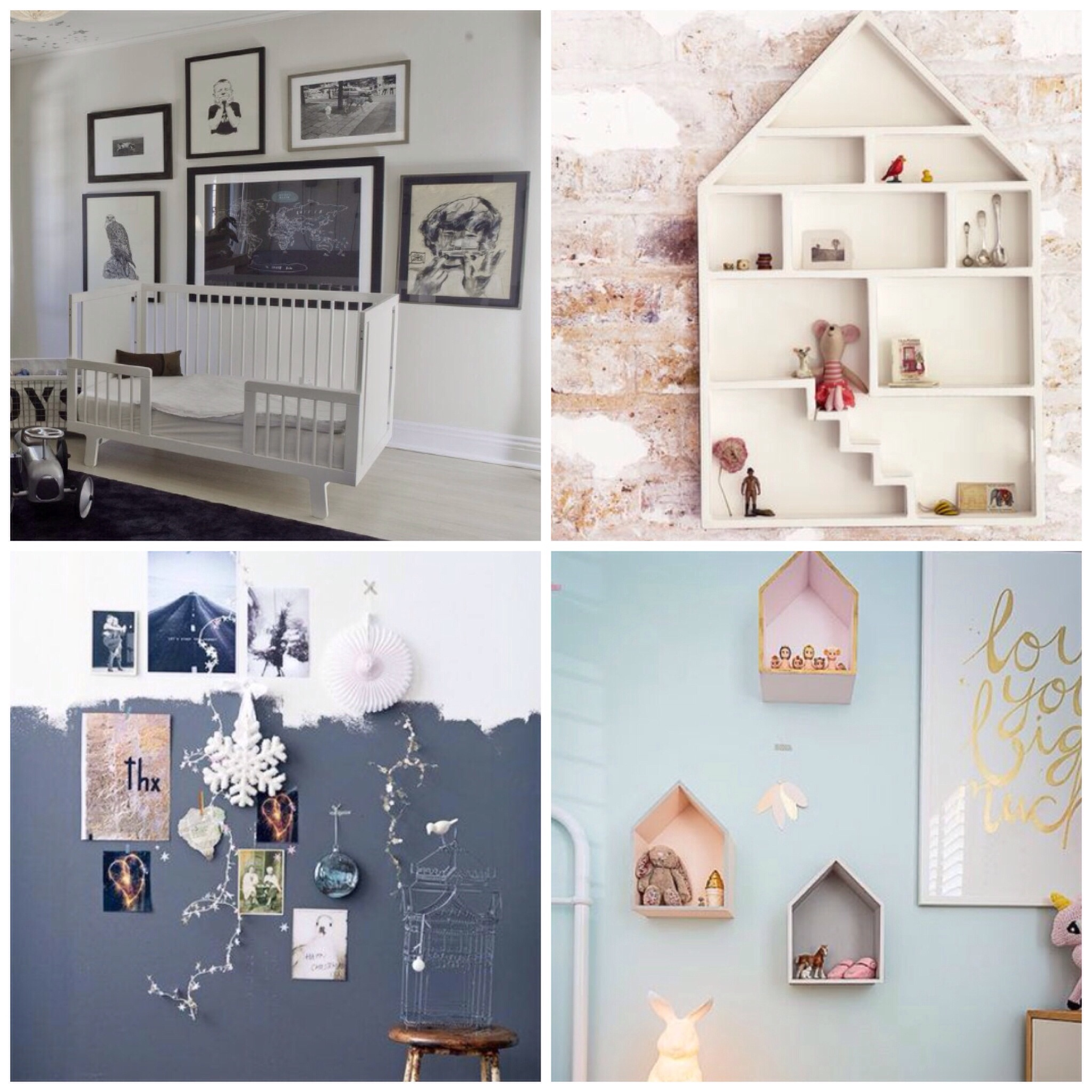 Mum of the world interior - Binnenkleuren met witte muur ...