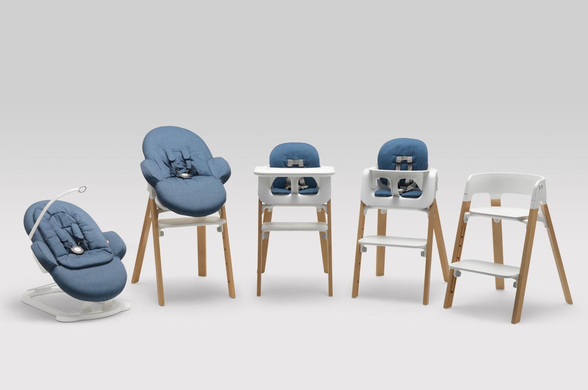 Stokke Ergonomische Stoel : ≥ stokke stoel peel met voeten bankje fauteuils marktplaats